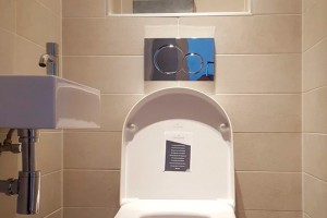 Toiletten en wanden tegelzetter